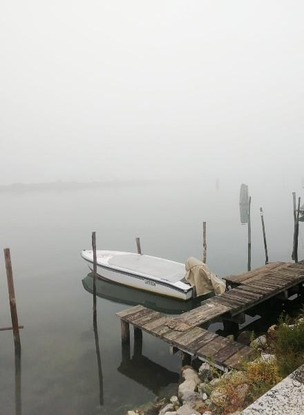 lagoon venice winter